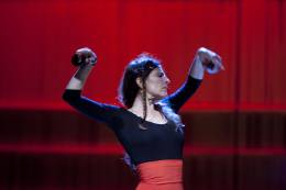 Bettina Castaño, flamencotanssi